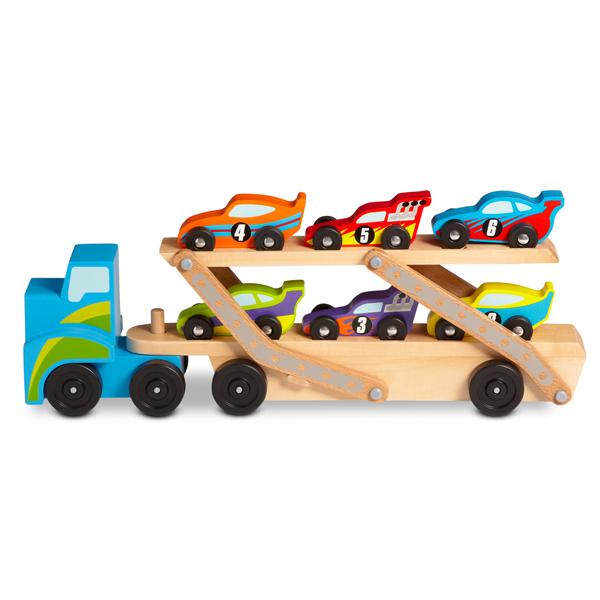 Camión  + 6 autos