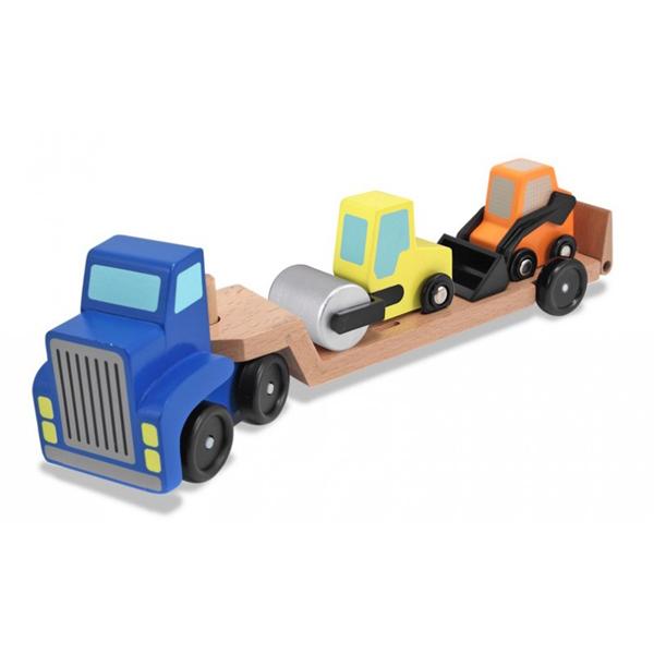 Camión con maquinaria
