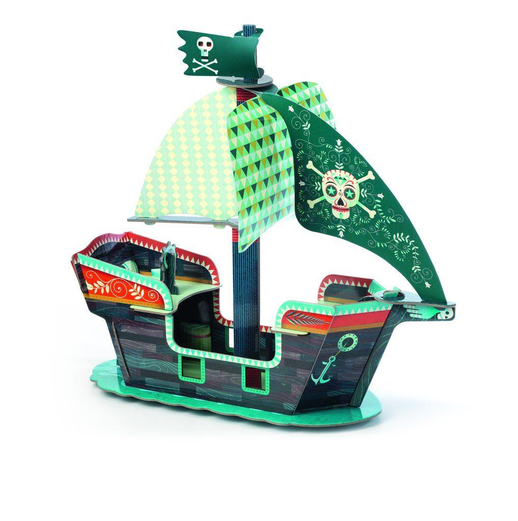 Barco Pirata ensamblable