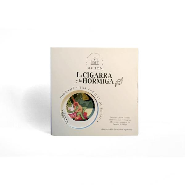Diorama La cigarra y la Hormiga