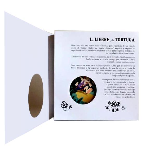 Diorama La Liebre y la Tortuga